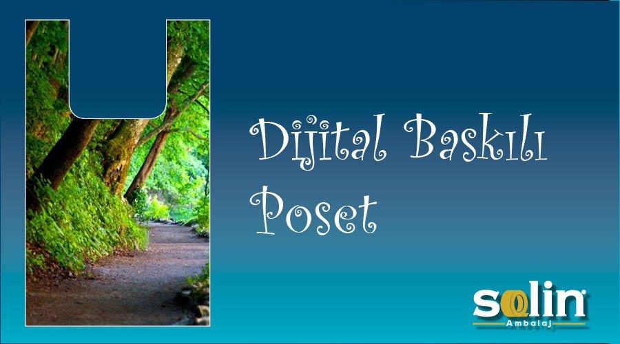 Dijital Baskılı Poşet
