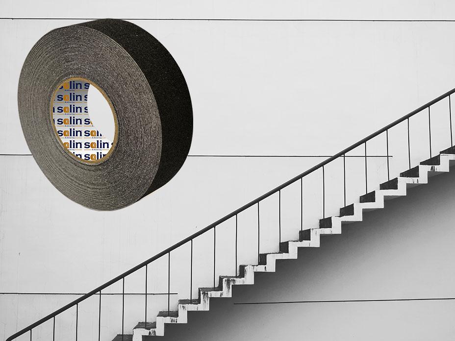 Merdiven kaydırmazlık bandı