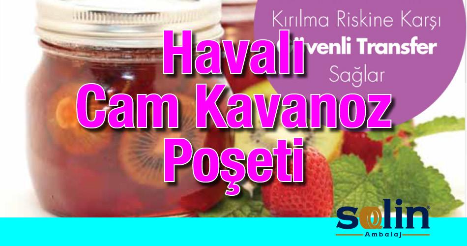 Havalı Cam Kavanoz Poşeti