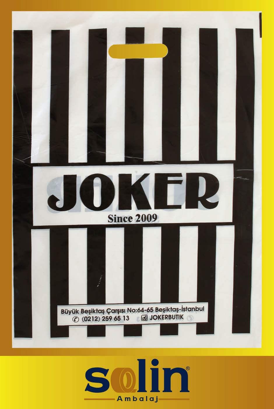 Joker mağaza poşeti