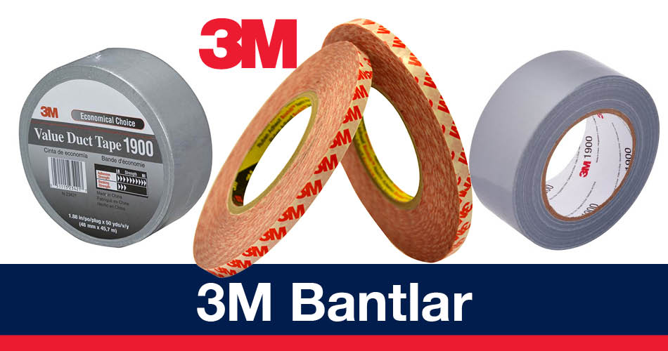 3M Bantlar 3M Bant Çeşitler